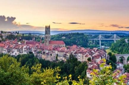 (c) Fribourg Tourisme; photo Pierre Cuony